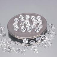 0.003Ct Натуральный белый топаз 1.8мм (цена за 1шт)