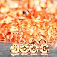 0.03Ct Оранжевый Падпараджа сапфир 1.8мм (цена за 1шт)