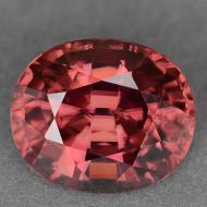 0.67Ct Натуральный розовый Турмалин - Рубеллит 6*4.8мм (овал)