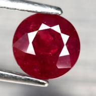 1.42Ct Натуральный рубин круг 6.1мм
