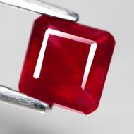 1.14Ct Натуральный рубин 5*5мм (октагон)