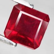 1.1Ct Натуральный рубин 5.1*5.0мм (октагон)