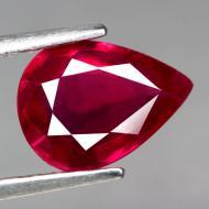 1.68Ct Натуральный рубин 9.1*6.7мм (груша)