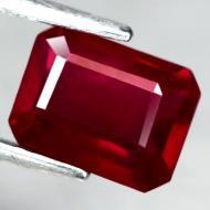 2.25Ct Натуральный рубин 7.9*6мм (октагон)