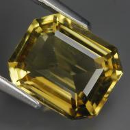 2.48Ct Натуральный лимонный кварц 9.3*7.7мм октагон ВИДЕО