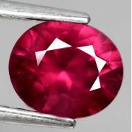 1.09Ct Натуральный родолит гранат 6.8*5.8мм (овал)