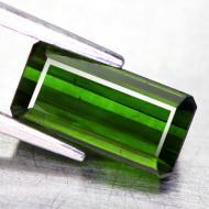 1.92CT Натуральный турмалин зеленый (верделит) 9.5*4.8мм (октагон)