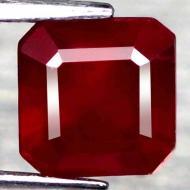 2.63Ct Натуральный рубин 6.9мм (октагон)