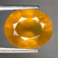4.54Ct Желто-оранжевый Сонгеа сапфир 10*8.2мм (овал)