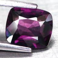 0.83Ct ШПИНЕЛЬ цвет бордово-фиолетовый 6.2*5.3мм (антик)