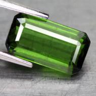 1.85CT Натуральный турмалин зеленый (верделит) 9.2*5.1мм (октагон)