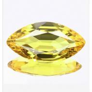 0.3Ct Желтый Сонгеа сапфир 6*2.8мм (маркиз)