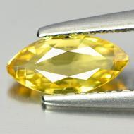 0.33Ct Желтый Сонгеа сапфир 6.1*3.0мм (маркиз)