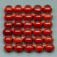 0.45Ct натуральный гранат 4мм кабошон (цена за 1шт)