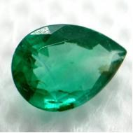 0.62Ct Чистый изумруд 7.2*5.1мм ярко-зеленый груша (Премиум Класса АА++)