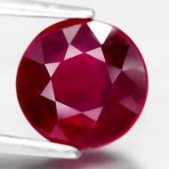 1.93Ct Натуральный рубин круг 6.9мм