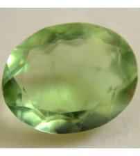 3.16Ct Натуральный зеленый Флюорит 8*10мм овал
