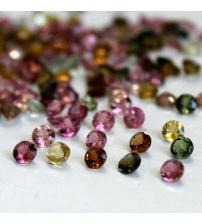 0.06Ct Драгоценный камень Турмалин 2.5мм (цена за 1шт)