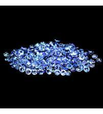 0.05Ct Натуральный камень танзанит 2.2мм (цена за 1шт)