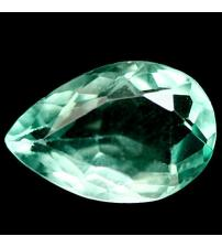 3.95Ct Натуральный зеленый флюорит 12*8мм