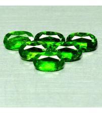 0.26Ct Натуральный хромдиопсид 5*3мм овал (цена за 1шт)
