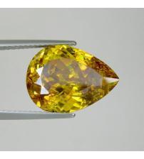 3.62Ct Драгоценный камень сфалерит 11*9мм груша