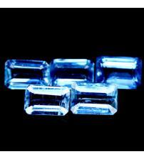 0.7Ct Натуральный кианит октагон 6*4мм (цена за 1шт)