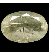 16.69Ct Огромный Рутиловый кварц (Волосатик) 21*14мм овал