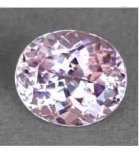 0.66Ct Натуральный светло розовый Турмалин - Рубеллит 5.8*5.1мм (овал)