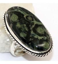 Огромное серебряное кольцо с Камбаба яшмой 20.5р