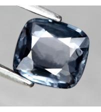 1.39Ct НАТУРАЛЬНАЯ ШПИНЕЛЬ цвет Titanum Blue 6.8*6мм