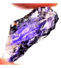 11.70Ct Натуральный Необработанный иолит 25*9мм (без огранки)