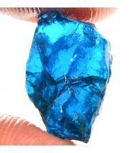 7.95Ct Натуральный голубой апатит 14*9мм без огранки
