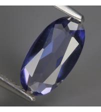 1.05Ct Натуральный иолит кордиерит 10.4*5.4мм овал (Видео)