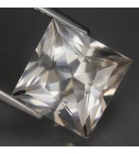 4.7Ct Натуральный белый кварц 10.3мм квадрат