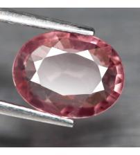 1.33CT розовый турмалин рубеллит 9.0*6.9мм (овал)