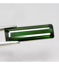 1.6CT Натуральний турмалін зелений (вердиліт) 12.8*3.9мм (октагон)