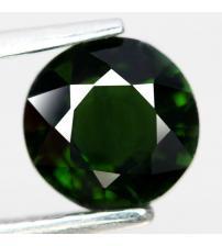 1.17CT Натуральный турмалин зеленый (верделит) 6.4мм (круг)