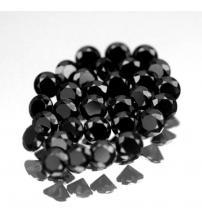 0.04Ct Натуральная черная шпинель 1.2мм (цена за 1шт)