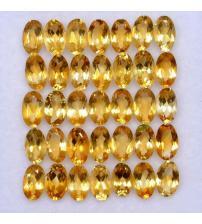 0.45Ct Натуральный цитрин 6*4мм овал (цена за 1шт)