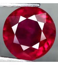 2.58Ct Натуральный красный рубин 8мм (круг)