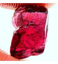 6.9Ct Необработанный родолит гранат 11*8мм (без огранки) ААА+