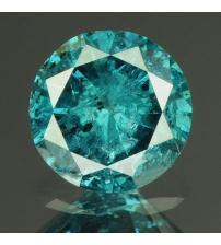 0.28Ct Натуральный голубой бриллиант 4.2мм с Сертификатом IGR (Vivid Royal Blue)