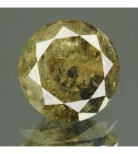 0.84Ct Натуральный серо-коричневый бриллиант 5.8мм с Сертификатом IGR (Dark Grey)