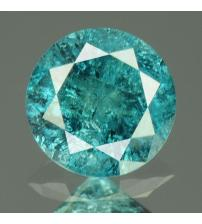 0.16Ct Натуральный голубой бриллиант 3.5мм с Сертификатом IGR (Vivid Royal Blue)
