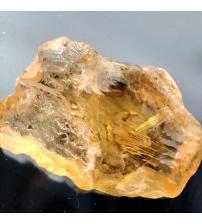 8.55Ct Натуральный необработанный цитрин 17.4*14.6мм