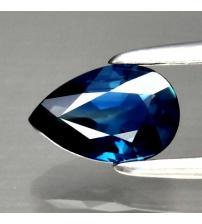 0.54Ct Натуральний синій сапфір груша 6.2*4мм (Відео)