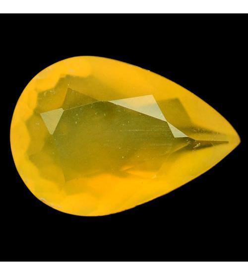 1.78Ct Природный желтый опал 8.1 X 11.7мм