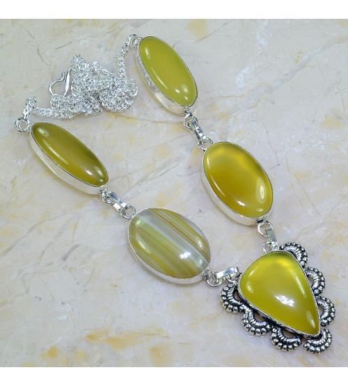 ожерелье агат