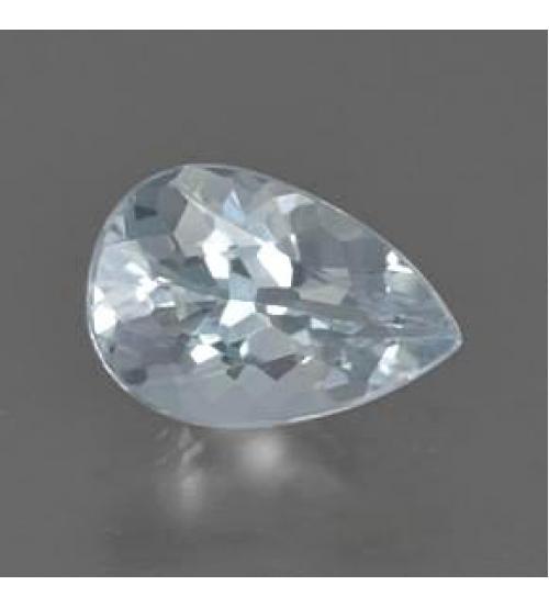 0.9Ct Драгоценный камень аквамарин 9*6.3мм груша
